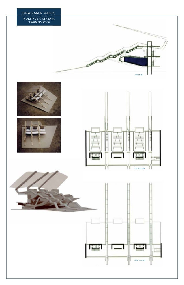DRAGANA VASIC MULTIPLEX CINEMA (1999/2000) A SECTION 1ST FLOOR 2ND FLOOR