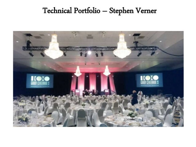 Technical Portfolio – Stephen Verner