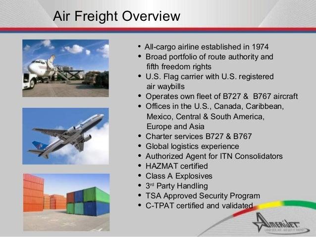 Amerijet Sales Presentation