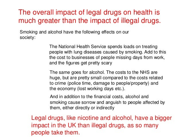 effects of illegal drug use