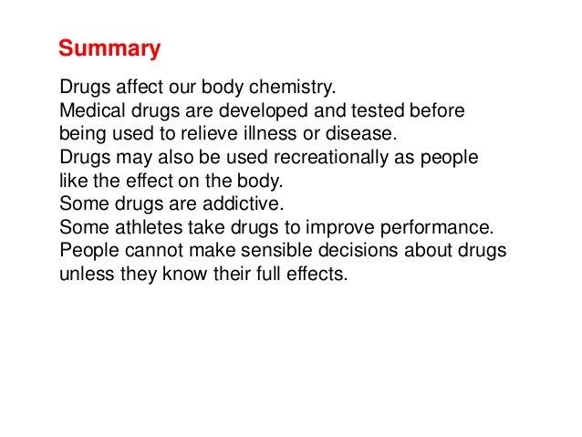 B13 Use And Abuse Of Drugs