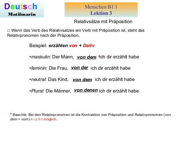 relativstze mit prposition menschen b11 lektion 3 deutsch matifmarin wenn das verb des - Relativsatze Beispiele