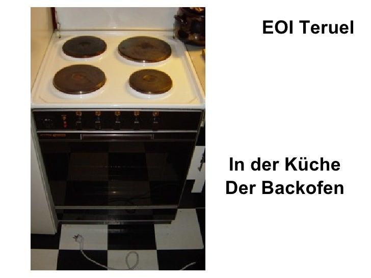 In der Küche Der Backofen EOI Teruel