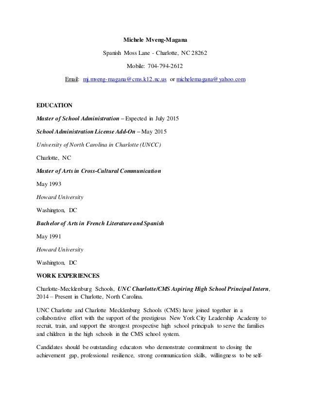 Magana Administrative Resume