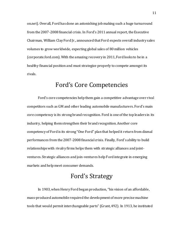 general motors core business This lesson examines the recent organizational change at general motors we will look at the government's role, what changes were implemented, and.