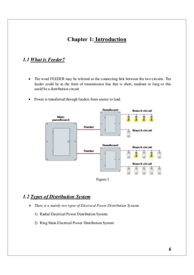 Report radial feeder protection panel development components mounting in panel 33 7 ccuart Images