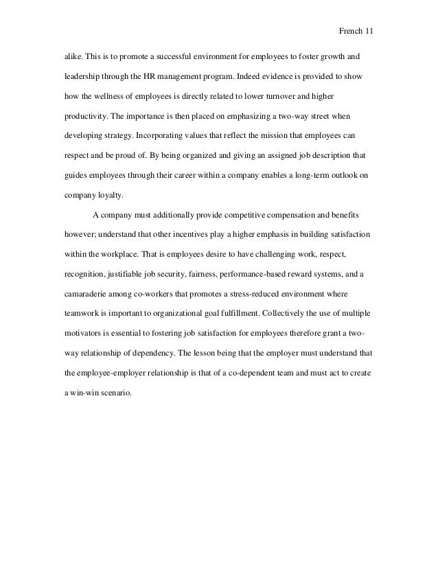 finding and keeping motivated employees essay management and employees 12