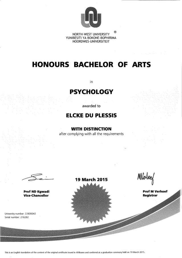 edp ba honours degree