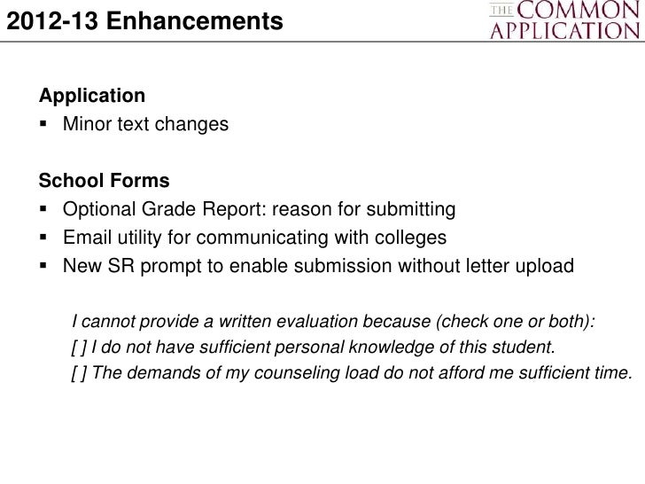 common app essay 2012 College application essays are read by members of the admissions committee,  usually called admissions officers who are the admissions.