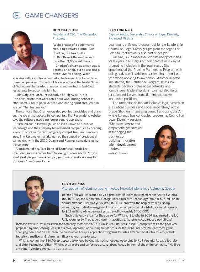 workforce magazine august 2015
