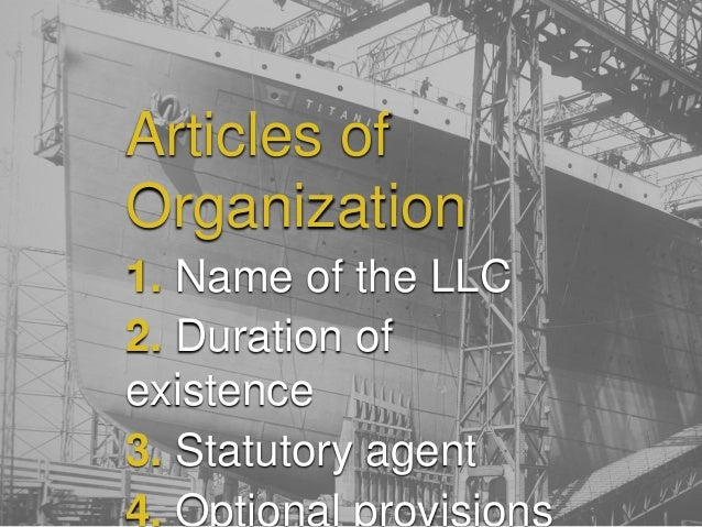 Llc Formation And Operation How To Draft The Llc Operating Agreement