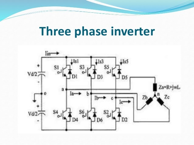 three phase inverter fed bldc motor drive