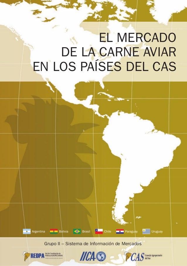 EL MERCADO DE LA CARNE AVIAR EN LOS PAÍSES DEL CAS Grupo II – Sistema de Información de Mercados