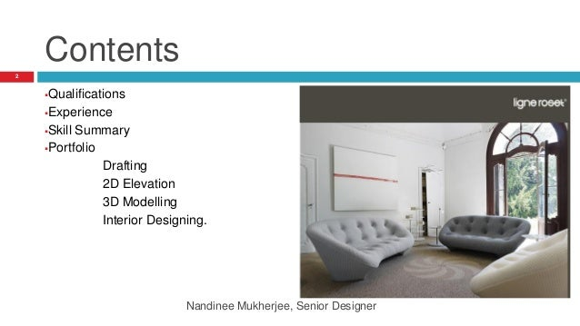 Interior design Portfolio Nandinee Mukherjee