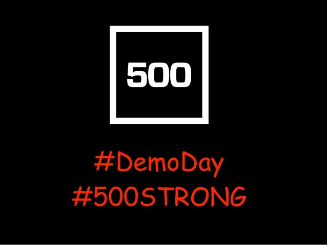 """500 Startups #Batch17 #DemoDay: """"Beauty and the GEEK"""""""