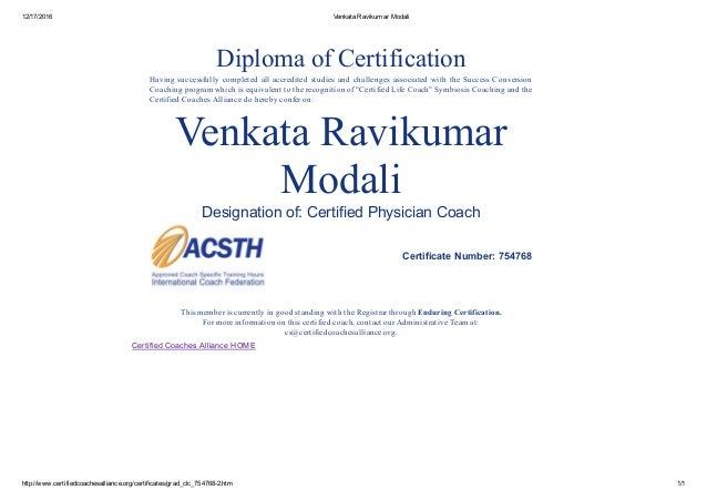 dr ravi certified physician coach