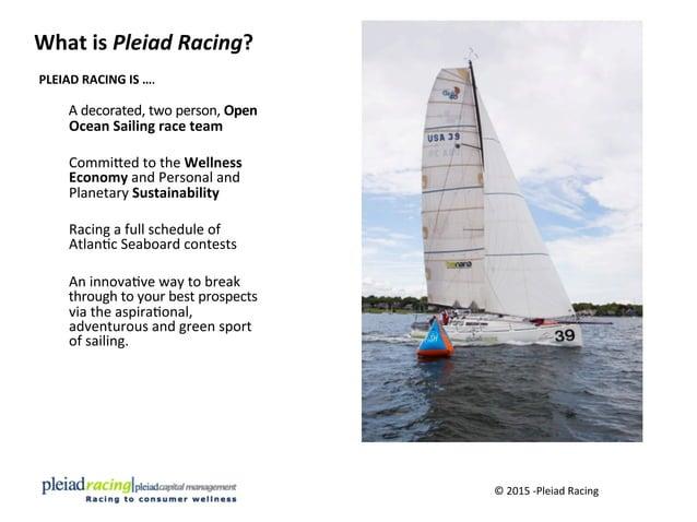 What  is  Pleiad  Racing?   ©  2015  -‐Pleiad  Racing     PLEIAD  RACING  IS  ….        A ...
