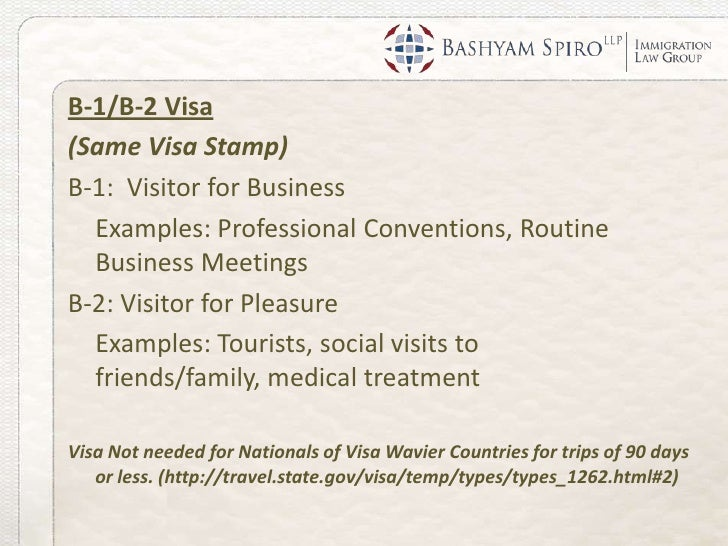 B1 B2 Visitor Visas How To Apply And What To Expect