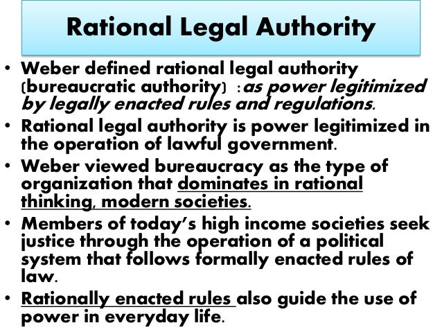 rational legal