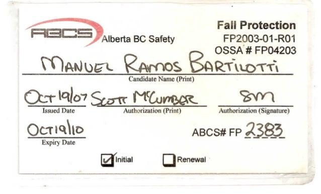 RBCS Alberta BC Safety
