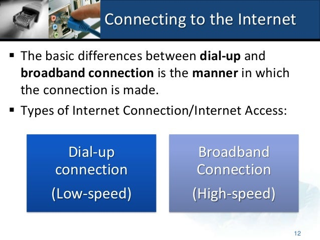 2 2 1 2 The Internet Connection