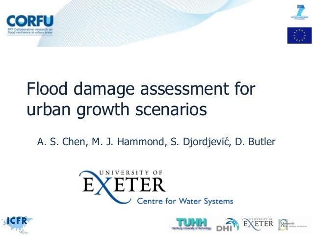 A. S. Chen, M. J. Hammond, S. Djordjević, D. Butler Flood damage assessment for urban growth scenarios