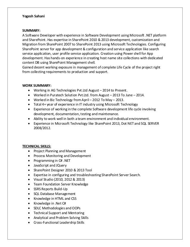 todd sharepoint resume 28 images sharepoint developer