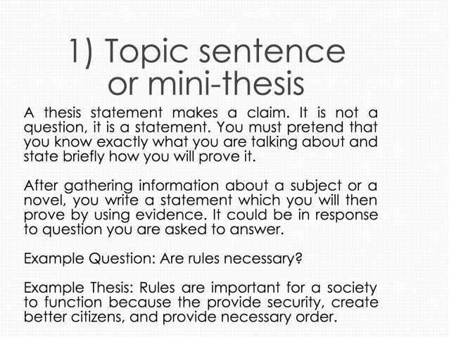 how do you make a thesis statement What is a thesis statement every paper you write should have a main point, a main idea, or central message the argument(s) you make.