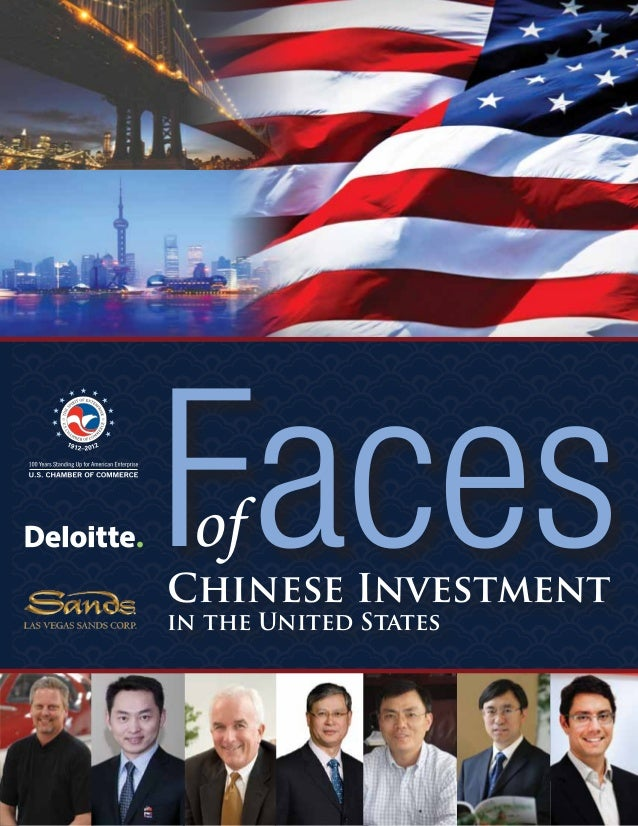 FacesChinese Investment in the United States of