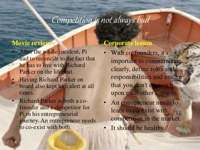 movie review about life of pi