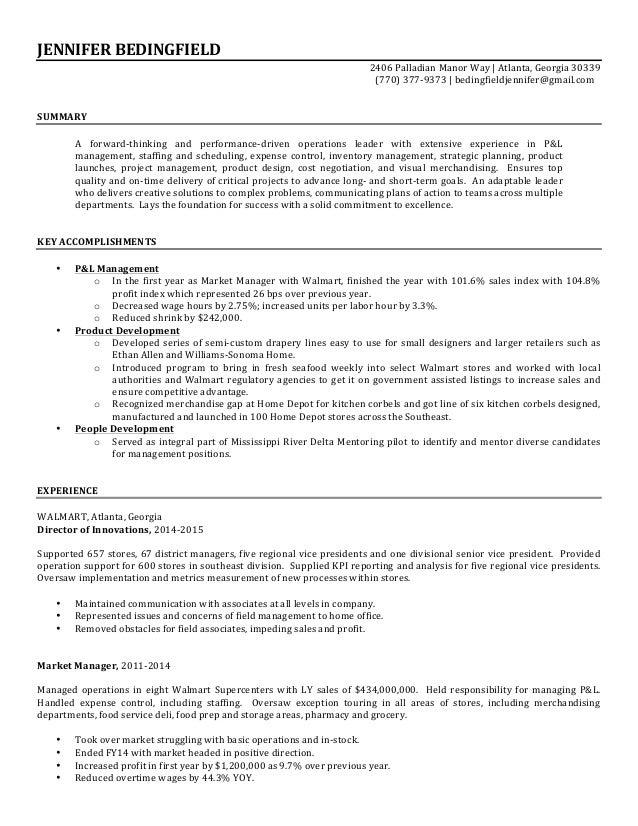 BedingfieldJennifer Resume