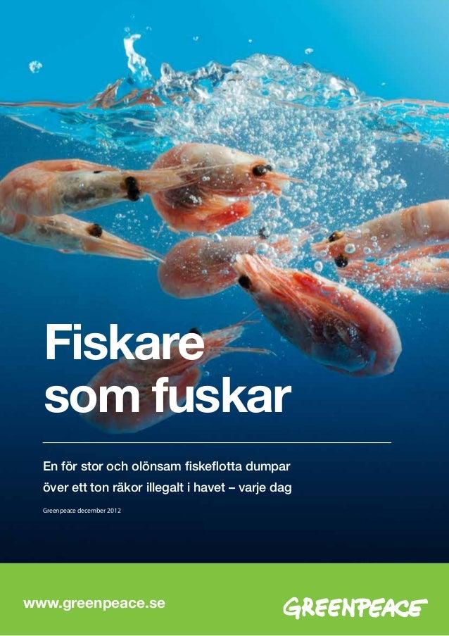 Varldens fiskeflotta dubbelt sa stor som havet tal