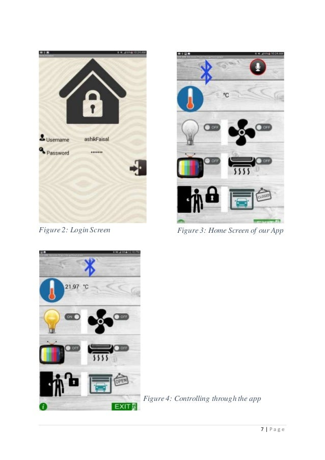 android app based home automation