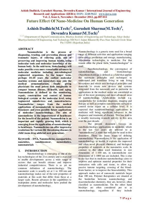 Ashish Dadhich, Gurudutt Sharma, Devendra Kumar / International Journal of Engineering               Research and Applicat...
