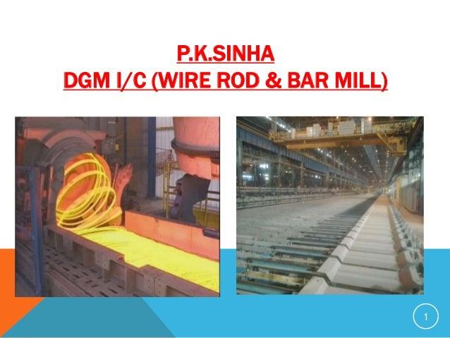 1 P.K.SINHA DGM I/C (WIRE ROD & BAR MILL)