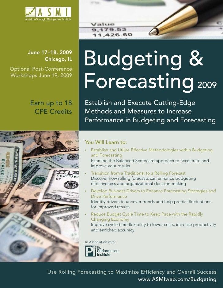 June 17–18, 2009              Chicago, IL Optional Post-Conference Workshops June 19, 2009                                ...