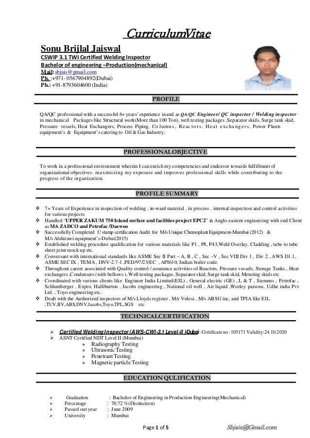 Sonu Jaiswal Resume 17 02 2017