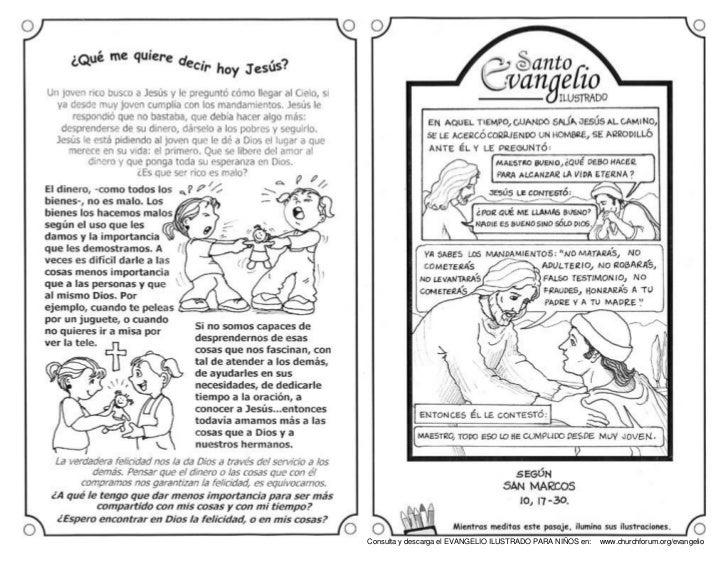 Evangelio Ilustrado 14 Octubre