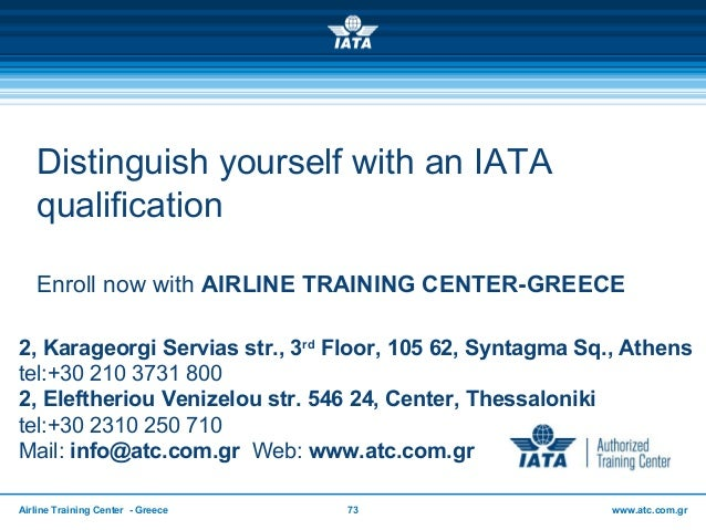 Generic PPT Presentation for ATC use 2016