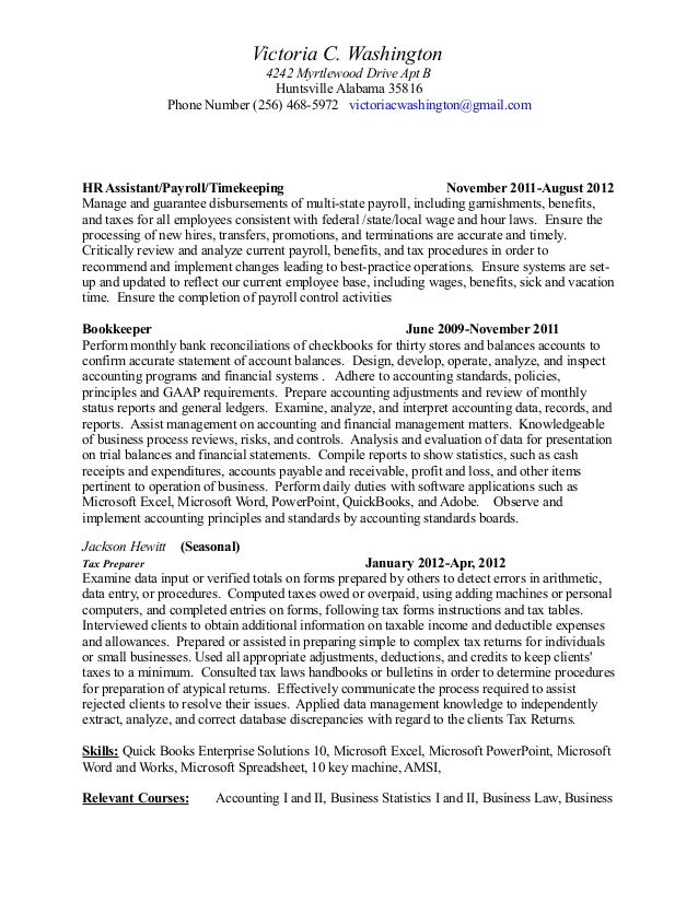 Beautiful Victoria Accounting Resume Gallery - Best Resume Examples ...