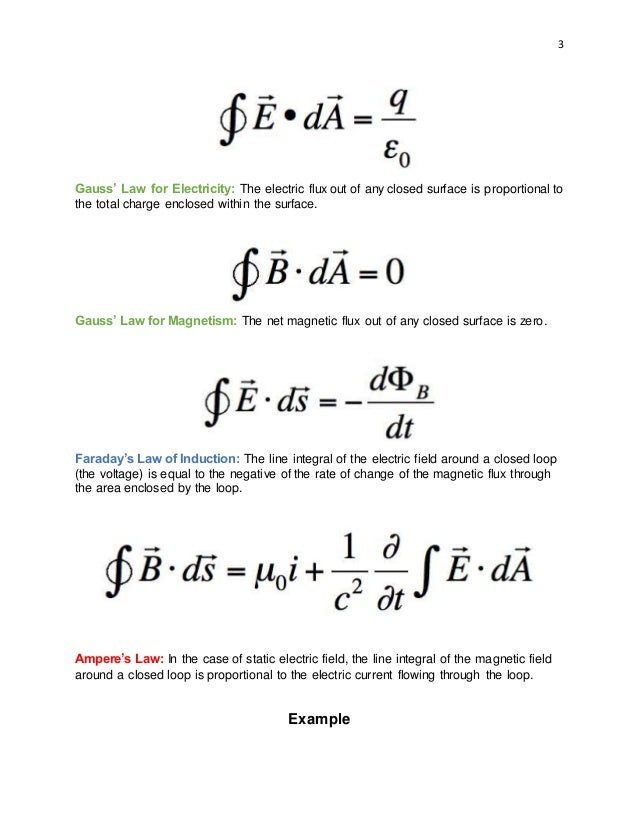 Maxwell Equations (2)