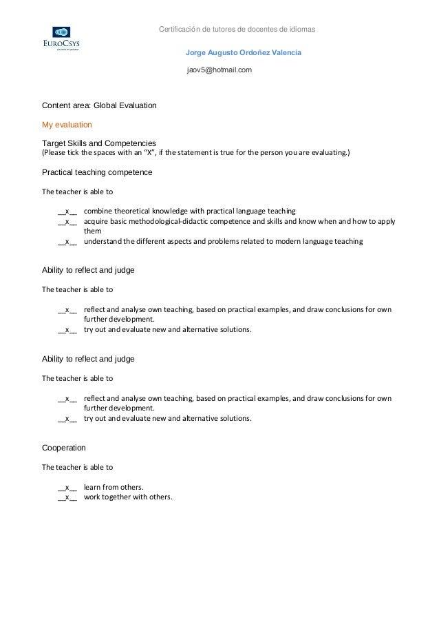 Certificación de tutores de docentes de idiomas                                             Jorge Augusto Ordoñez Valencia...