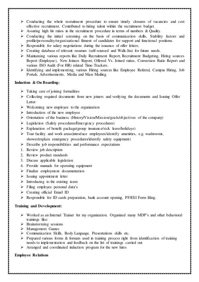 Hr Resume Sample Resume Examples Images About Human Resources Hr Resume  Templates Samples On Pinterest Professional  Hr Sample Resume