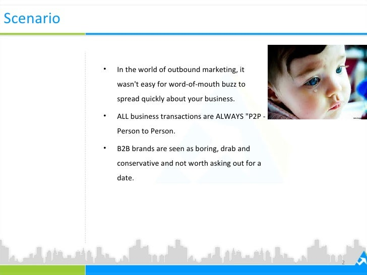 How B2B Promotions in FB works? Slide 2
