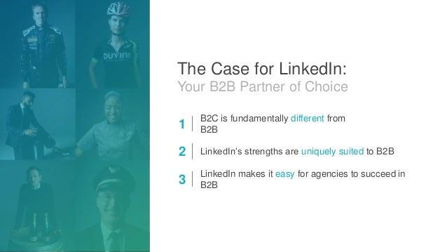 LinkedIn - Your B2B Partner of Choice Slide 2
