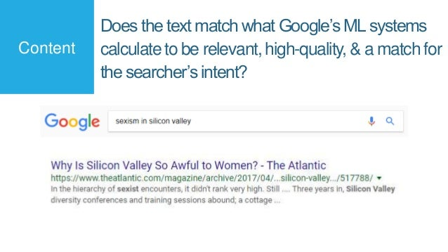 Editorially-given, anchor-text-rich, followed links from high quality sources still matter to Google (esp. in competitive ...
