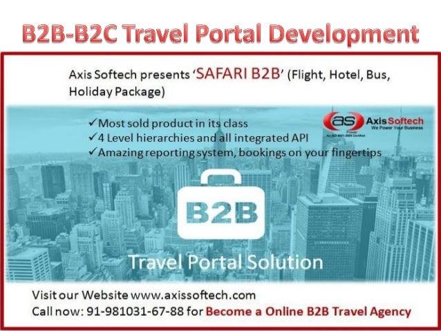 B2B-Travel-Portal-Development-Company-India