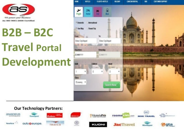 B2B Travel Portal Development Services - Axis Softech Private Limited