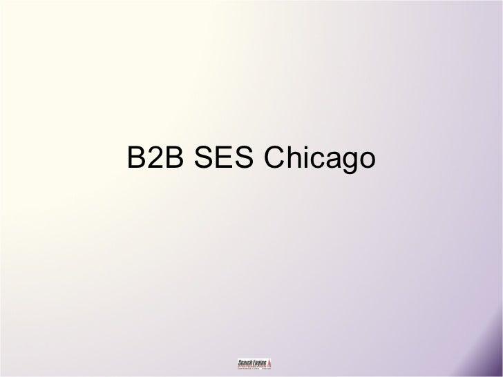 B2B SES Chicago