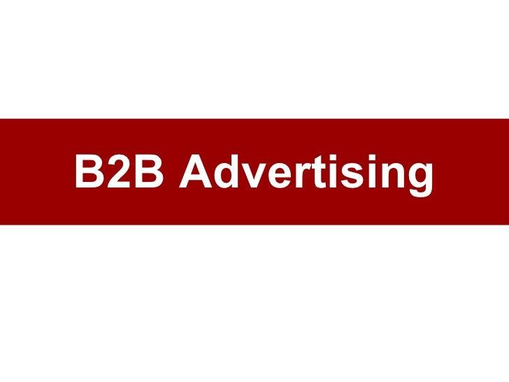 B2B Advertising